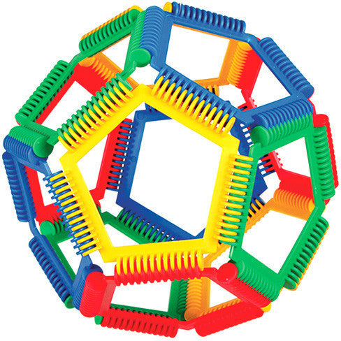 Interstar - Geometric (50 Pieces)-Binky Boppy