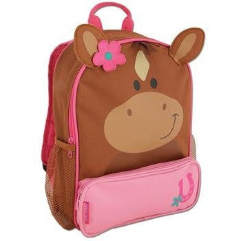 Stephen Joseph - Sidekick Backpack (Horse)-Binky Boppy