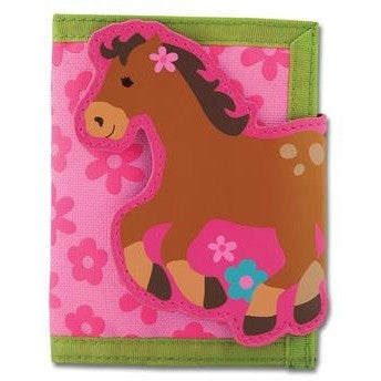 Stephen Joseph - Wallet (Girl Horse)-Binky Boppy