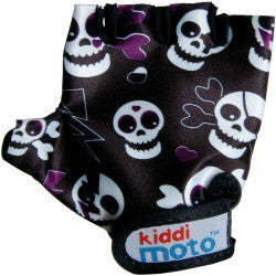 Kiddimoto - Skullz Gloves (Small)-Binky Boppy