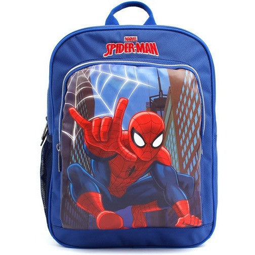 Winghouse - Spider Man Action Backpack-Binky Boppy