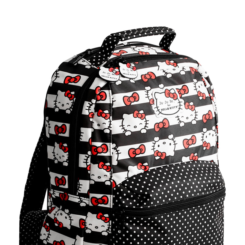 Jujube Sanrio - Be Packed (Hello Kitty Dots & Stripes)-Binky Boppy