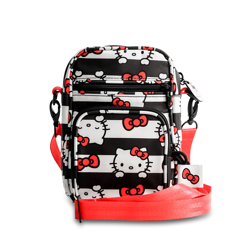 Jujube Sanrio - Mini Helix (Hello Kitty Dots & Stripes)-Binky Boppy