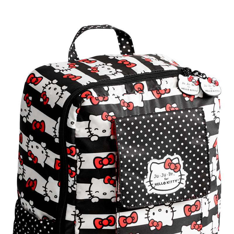 Jujube Sanrio - MiniBe (Hello Kitty Dots & Stripes)-Binky Boppy