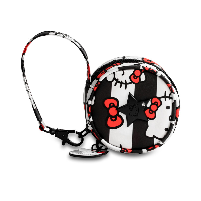 Jujube Sanrio - Paci Pod (Hello Kitty Dots & Stripes)-Binky Boppy