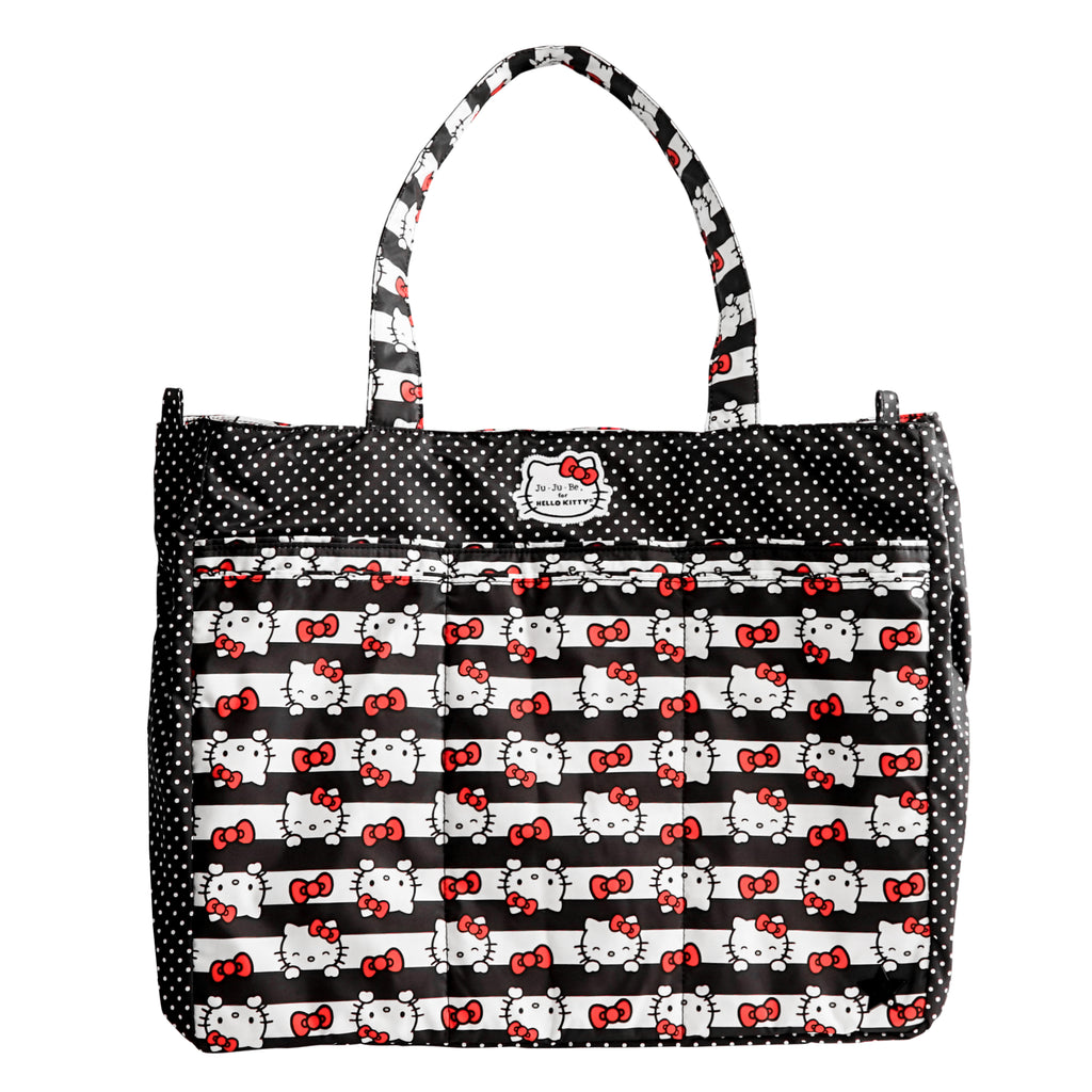 Jujube Sanrio - Super Be (Hello Kitty Dots & Stripes)-Binky Boppy