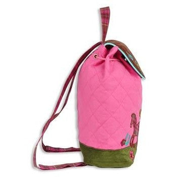 Stephen Joseph - Signature Backpack (Horse)-Binky Boppy