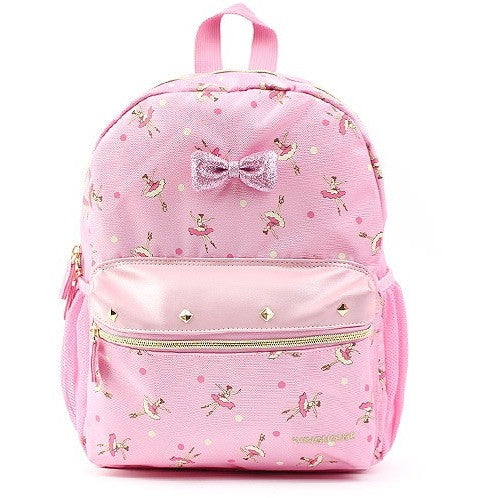 Winghouse - Wing Girls Daine Backpack (Light Pink)-Binky Boppy