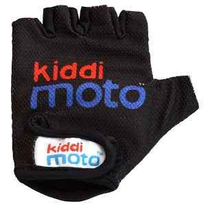 Kiddimoto - Black Gloves (Small)-Binky Boppy