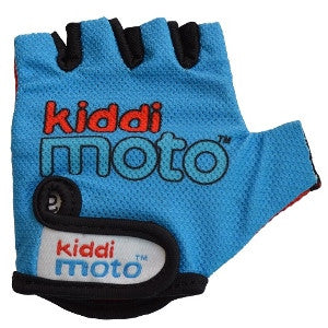 Kiddimoto - Blue Gloves (Medium)-Binky Boppy
