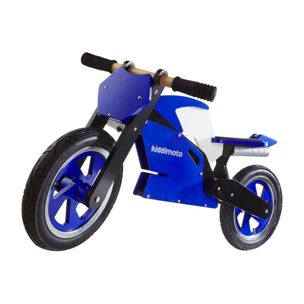 Kiddimoto - Blue & White Superbike-Binky Boppy
