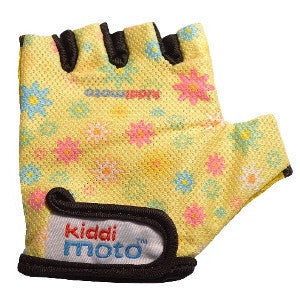 Kiddimoto - Flower Gloves (Medium)-Binky Boppy