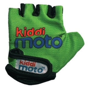 Kiddimoto - Green Gloves (Medium)-Binky Boppy