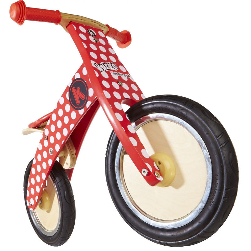 Kiddimoto - Red Dotty Kurve-Binky Boppy