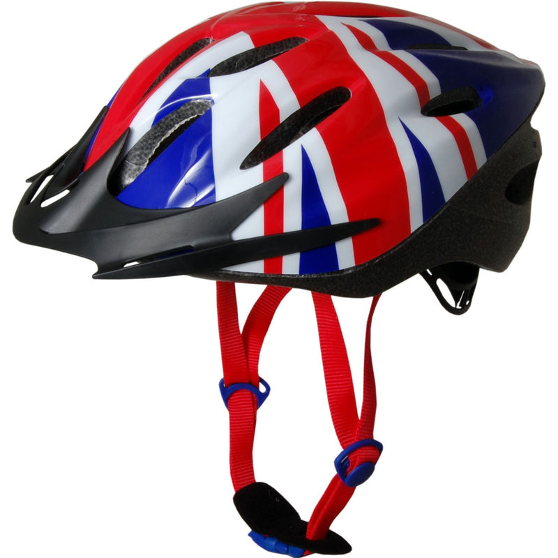 Kiddimoto - Union Jack Cycle Helmet-Binky Boppy