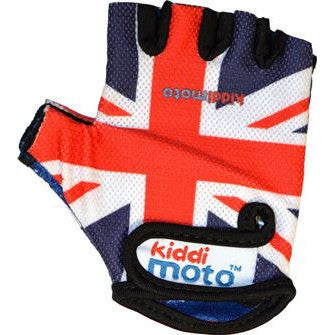 Kiddimoto - Union Jack Gloves (Medium)-Binky Boppy