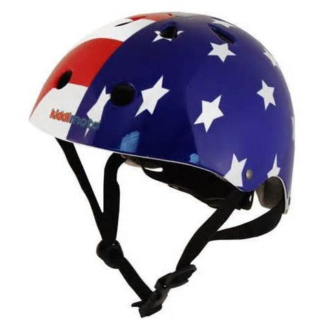 Kiddimoto - USA Flag Helmet-Binky Boppy