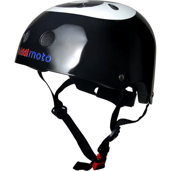 Kiddimoto - 8 Ball Helmet-Binky Boppy