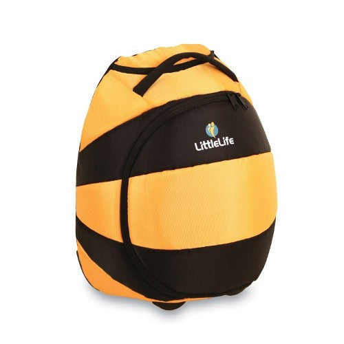 LittleLife - Animal Wheelie Duffle (Bee)-Binky Boppy