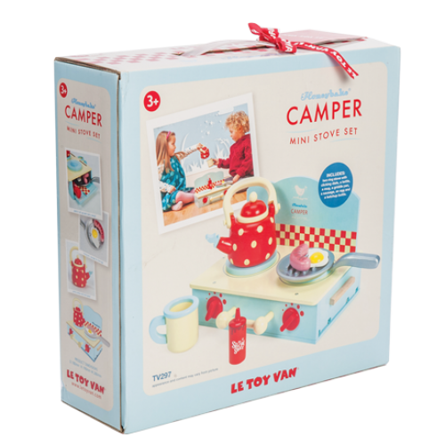 Le Toy Van - Camper Mini Stove Set-Binky Boppy