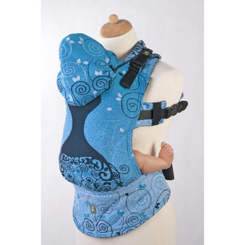 LennyLamb - Blue Princess Carrier-Binky Boppy