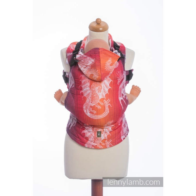 LennyLamb - Dragon Orange and Red Carrier-Binky Boppy