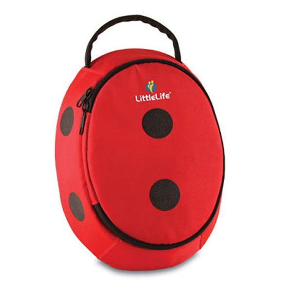 LittleLife - Animal Lunch Pack (Ladybird)-Binky Boppy
