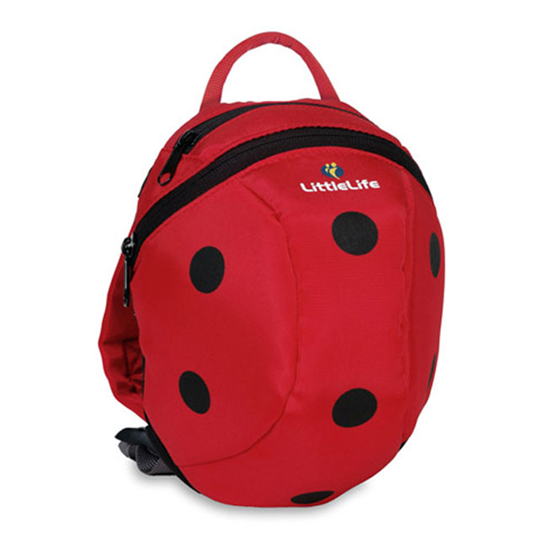 LittleLife - Animal Toddler Daysack (Ladybird)-Binky Boppy