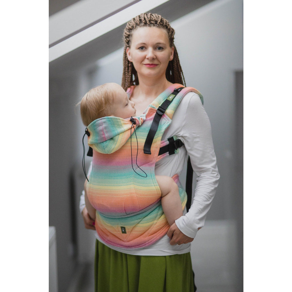 LennyLamb - Little Herringbone Imagination Carrier-Binky Boppy
