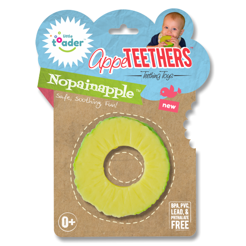 Little Toader - Appeteethers Nopainapple-Binky Boppy