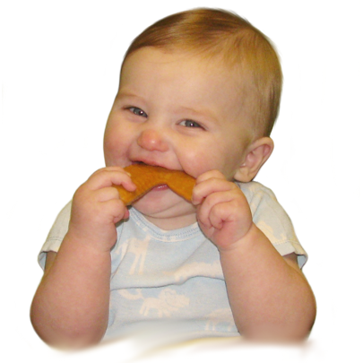 Little Toader - Appeteethers Chompin' Chicken Wing-Binky Boppy