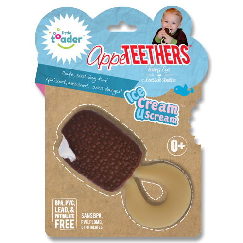 Little Toader - Appeteethers Ice Cream U Scream-Binky Boppy