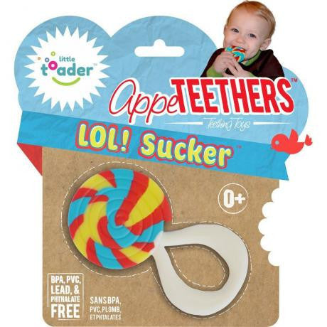 Little Toader - Appeteethers Lol! Sucker-Binky Boppy
