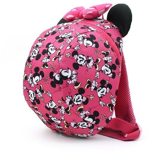 Winghouse - Minnie Mouse Dome Backpack (Pink)-Binky Boppy