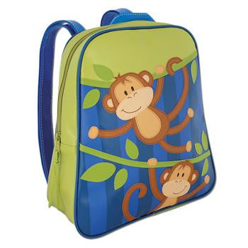 Stephen Joseph - Go Go Bag (Monkey)-Binky Boppy