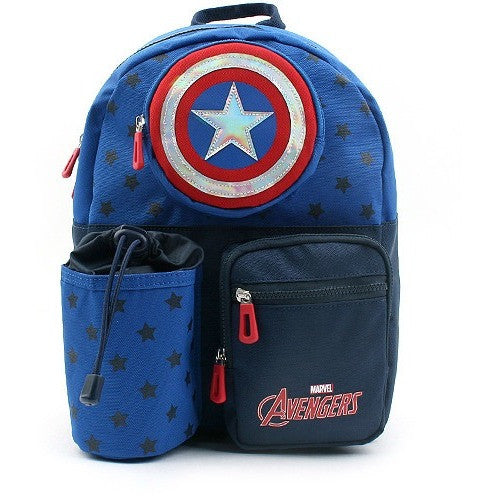 Winghouse - Captain America Star Picnic Backpack-Binky Boppy