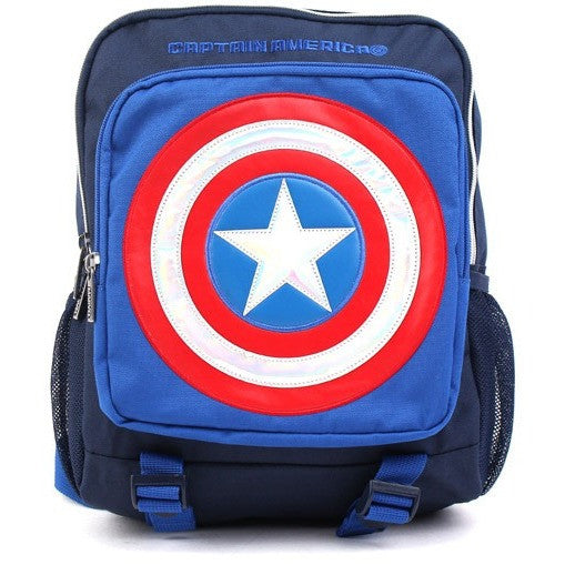 Winghouse - Captain America Camping Backpack-Binky Boppy