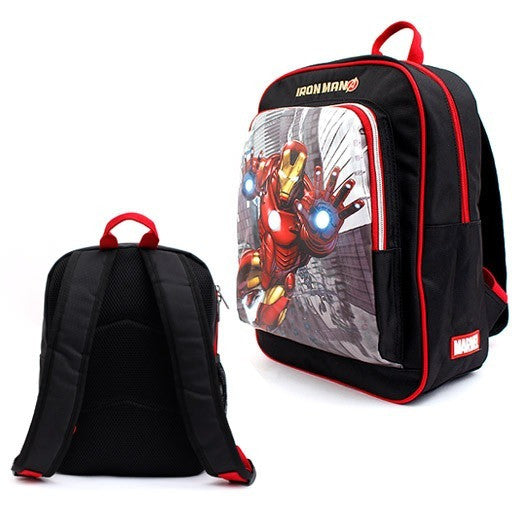 Winghouse - Iron Man Action Backpack-Binky Boppy