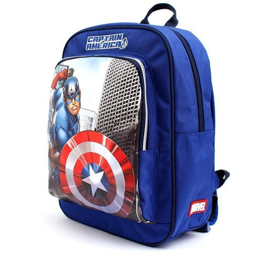 Winghouse - Captain America Action Backpack-Binky Boppy