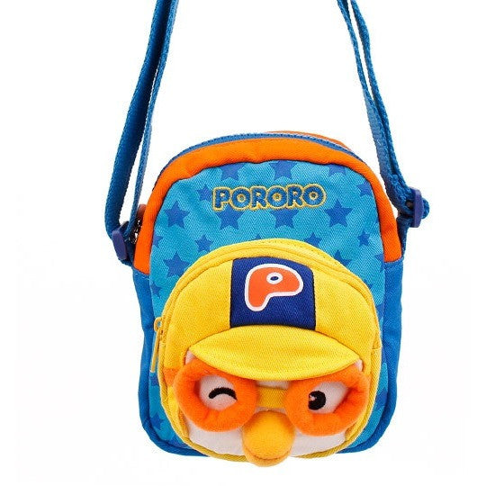 Winghouse - Pororo Solid Cross (Blue)-Binky Boppy