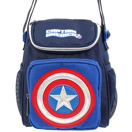 Winghouse - Captain America Camping Cross-Binky Boppy