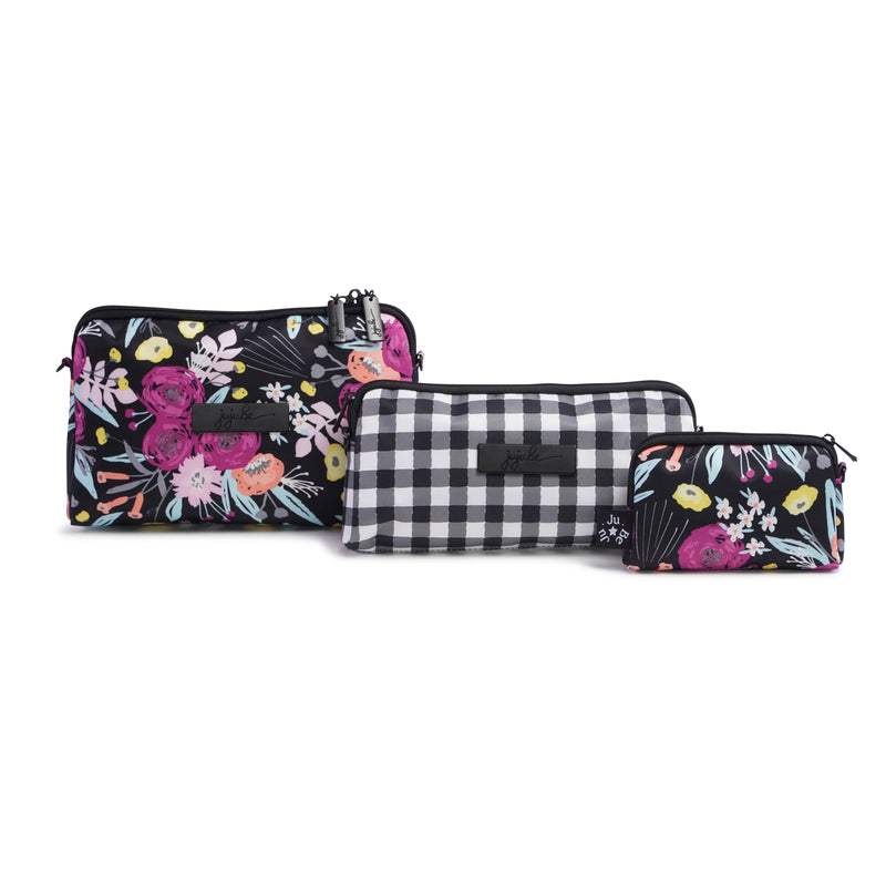 Jujube Onyx - Be Set (Black & Bloom)-Binky Boppy