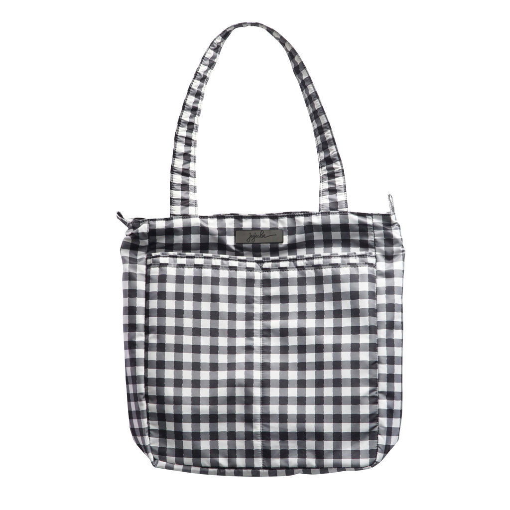 Jujube Onyx - Be Light (Gingham Style)-Binky Boppy