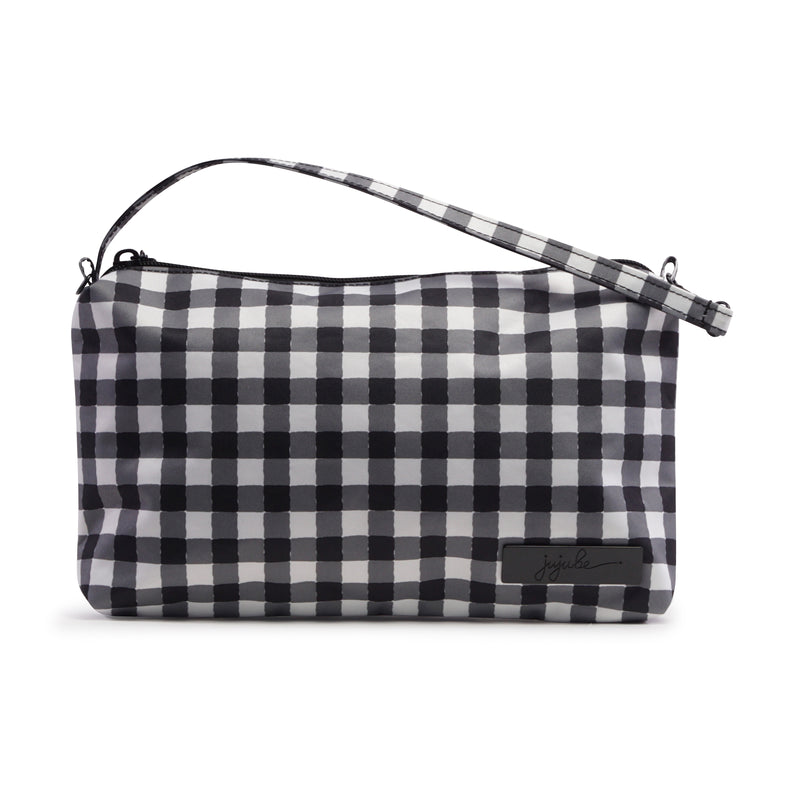 Jujube Onyx - Be Quick (Gingham Style)-Binky Boppy