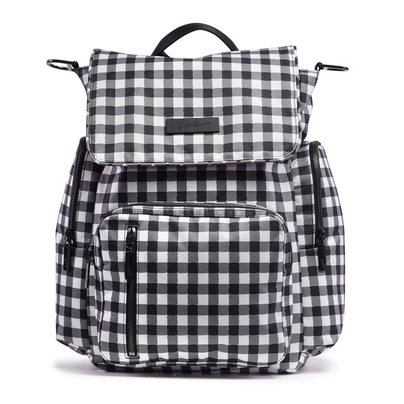 Jujube Onyx - Be Sporty (Gingham Style)-Binky Boppy