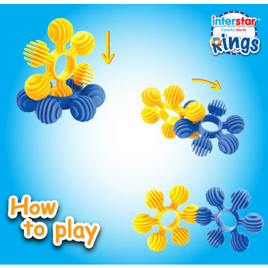 Interstar - Rings (24 Pieces)-Binky Boppy