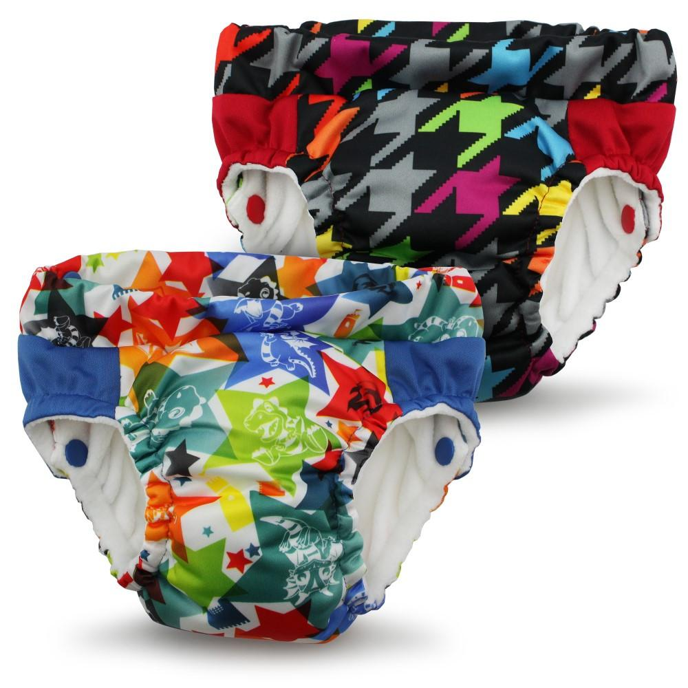 Kanga Care - Lil Learnerz Training Pants & Swim Diaper (Dragons Fly & Invader)-Binky Boppy