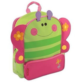 Stephen Joseph - Sidekick Backpack (Butterfly)-Binky Boppy