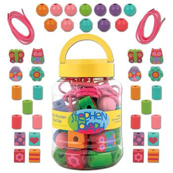 Stephen Joseph - Bead String Set (Garden)-Binky Boppy