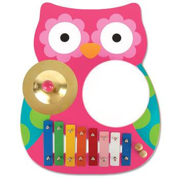 Stephen Joseph - Musical Band Table (Owl)-Binky Boppy